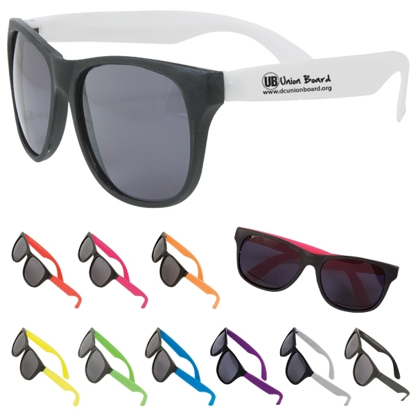 Two Tone Matte Sunglasses