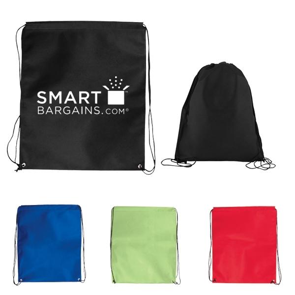 Jumbo Nonwoven Drawstring Cinch-Up Backpack