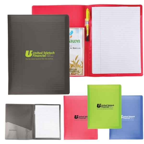 Letter Size Folder w/ Writing Pad