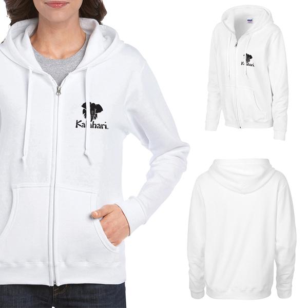 Gildan®Heavy Blend™Ladies Full Zip Hooded Sweatshirt