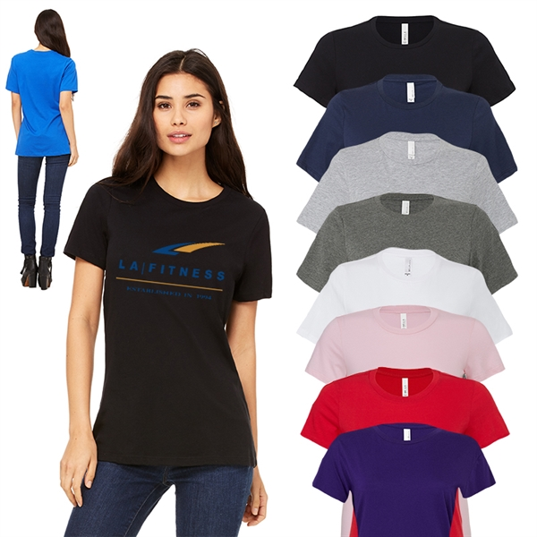 Bella+Canvas®Ladies Relaxed Fit Jersey Tee