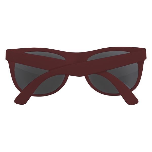 Rubberized Sunglasses - Rubberized sunglasses.