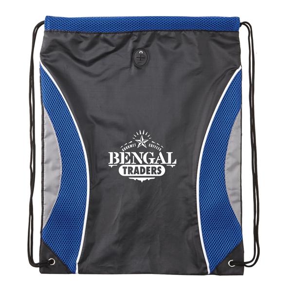 Pinnacle Mesh Drawstring Backpack