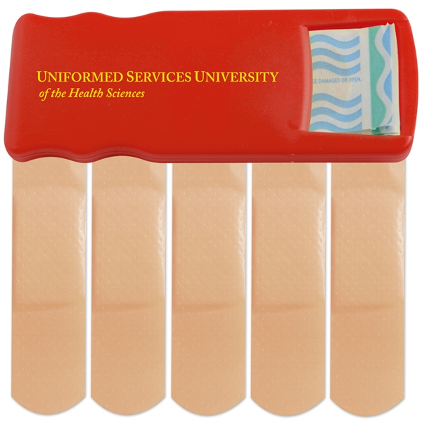 Primary Care™ Bandage Dispenser - Bandage dispenser with 5 latex free bandages.