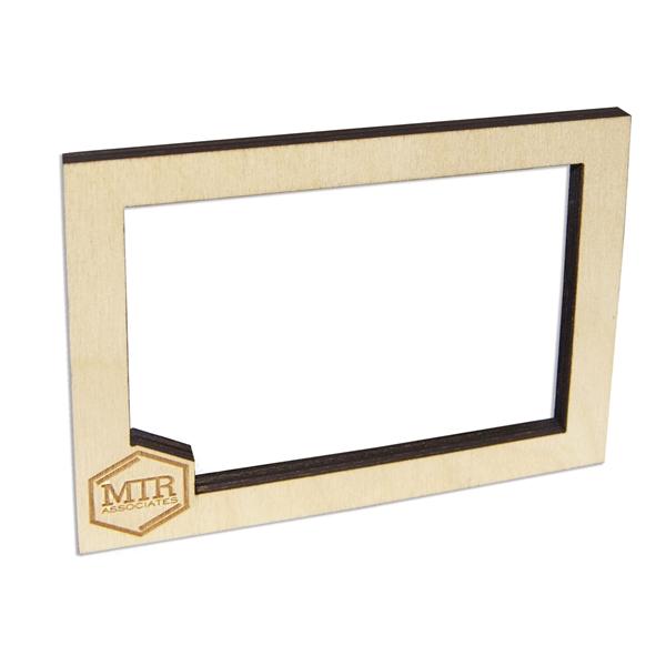 Laser Etched Birch Magnet Frames