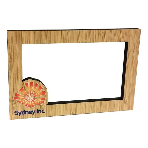 Ultra Vivid Bamboo Magnet Frames