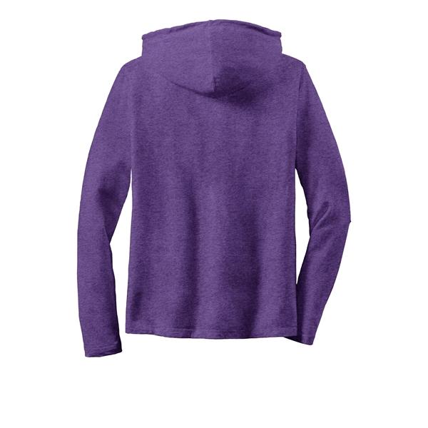 Anvil Ladies 100% Combed Ring Spun Cotton Long Sleeve Hoo...