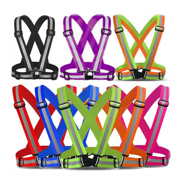 Adjustable Reflective Safety Harness