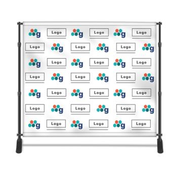 Step and Repeat Backdrop 8X8