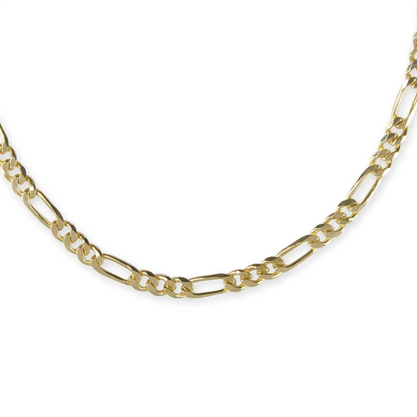 5a9cb4a8fbd33 18 in 10 Karat Gold Chain (3 Small Links, 1 Large Link) BNoticed ...