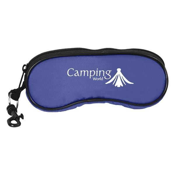 Eyeglass/Sunglass Holder - Eyeglass holder, 420 denier nylon.