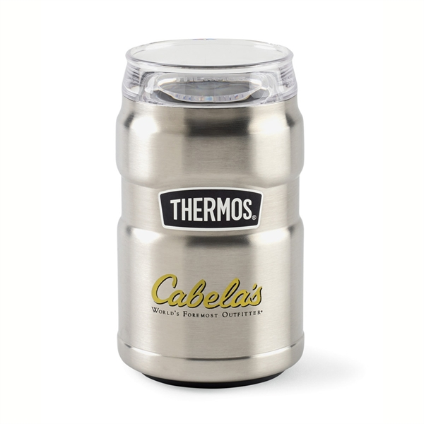 Thermos®Stainless King™ Can Insulator 360 Drink Lid