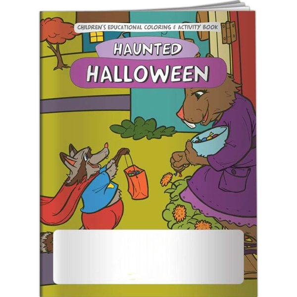Coloring Book - Haunted Halloween