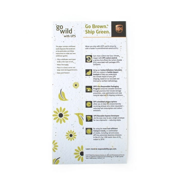 Seed Paper Coupon, Large