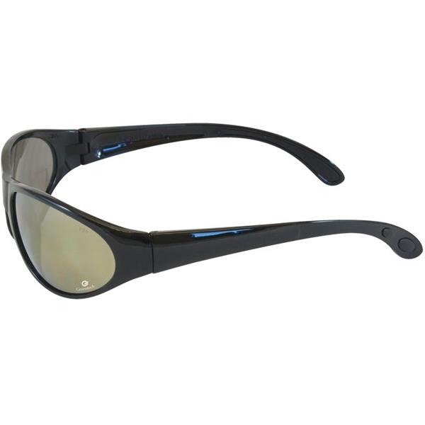 Bouton® Pirana Gold Mirror Glasses