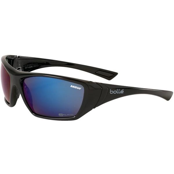Bolle Hustler Blue Polarized Glasses