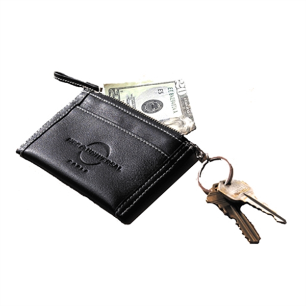Leather Coin Purse/ Key Chain