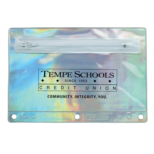 Iridescent School Pouch