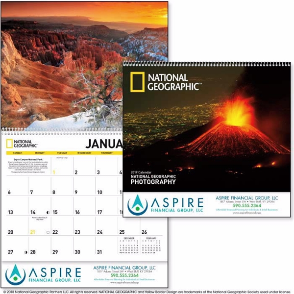 National Geographic Photography 2020 Calendar