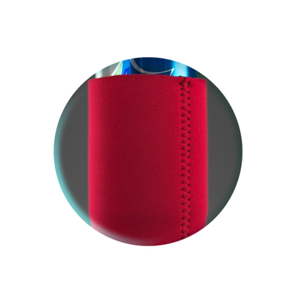 Tall Boy Neoprene Collapsible Can Cooler