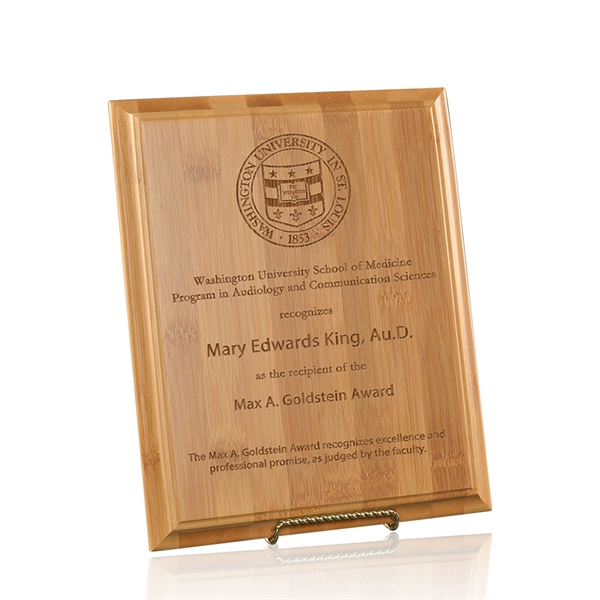 Barrington Plaque - Medium
