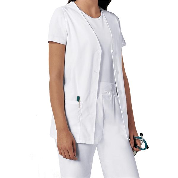 Fashion Solids Button Front Vest