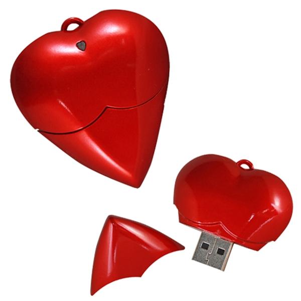 Heart Flash Drive