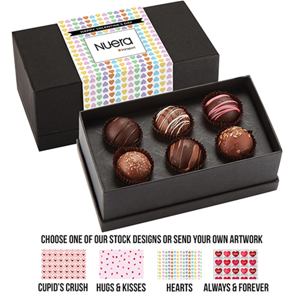 6 Piece Decadent Truffle Box