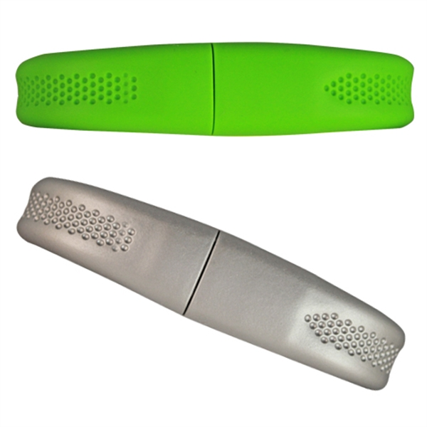Silicone Wristband - Thin Flash Drive