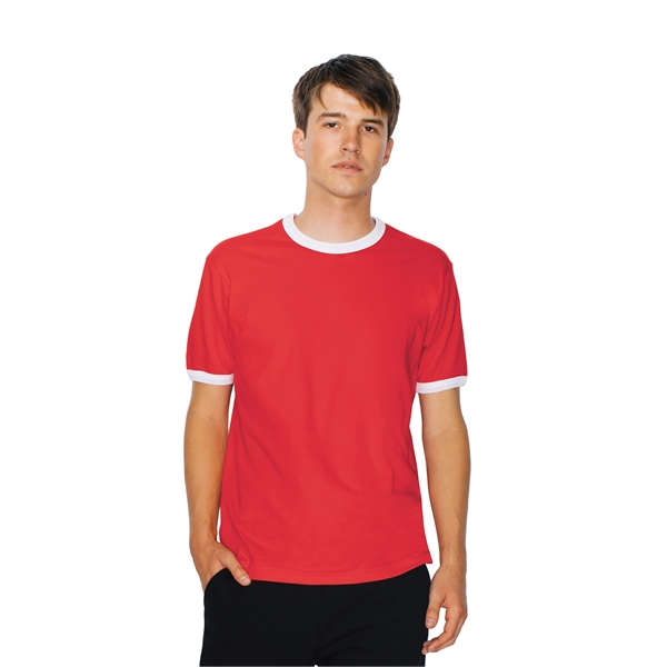 American Apparel® Unisex Fine Jersey Ringer Tee