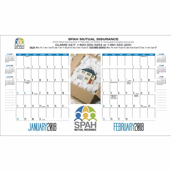 2020 Desk Pad Calendar