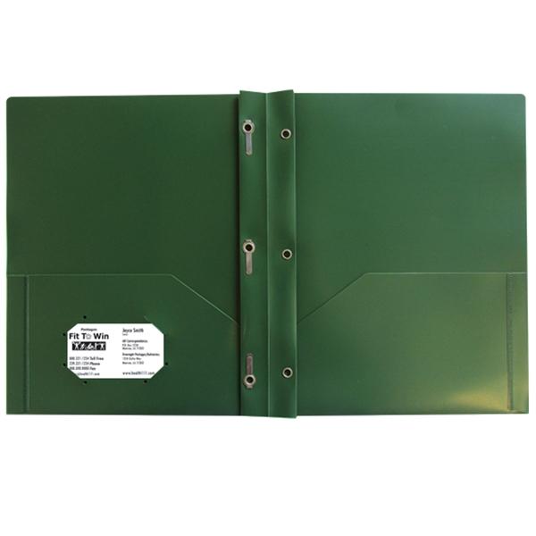 Three Prong Twin Pocket Presentation Folder BNoticed | Put ...