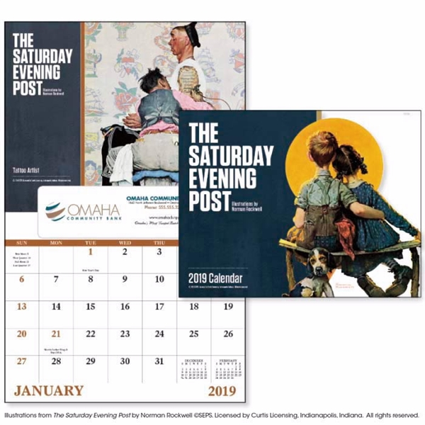 Window The Saturday Evening Post 2020 Appointment Calendar