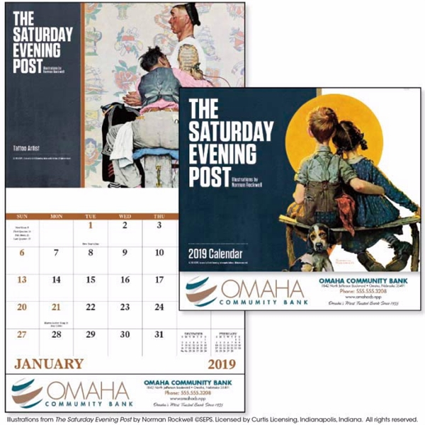 Stapled The Saturday Evening Post 2020 Appointment Calendar