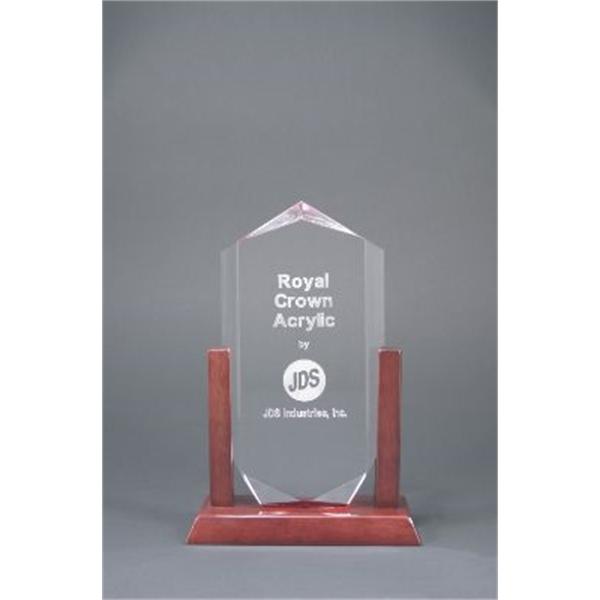 Clear Royal Crown Acrylic