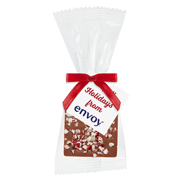 Bite Size Chocolate Square Gift Bag - Crushed Peppermint