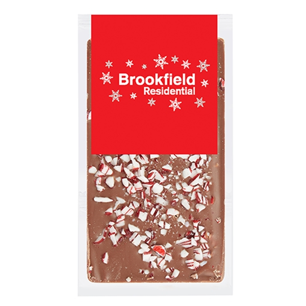 Belgian Chocolate Bars - Crushed Peppermint - 1 oz