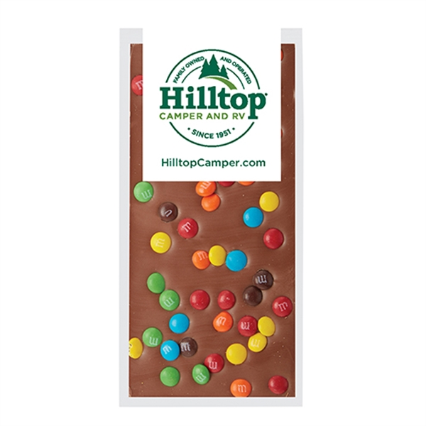 Belgian Chocolate Bars - Mini M&M's® - 3.5 oz
