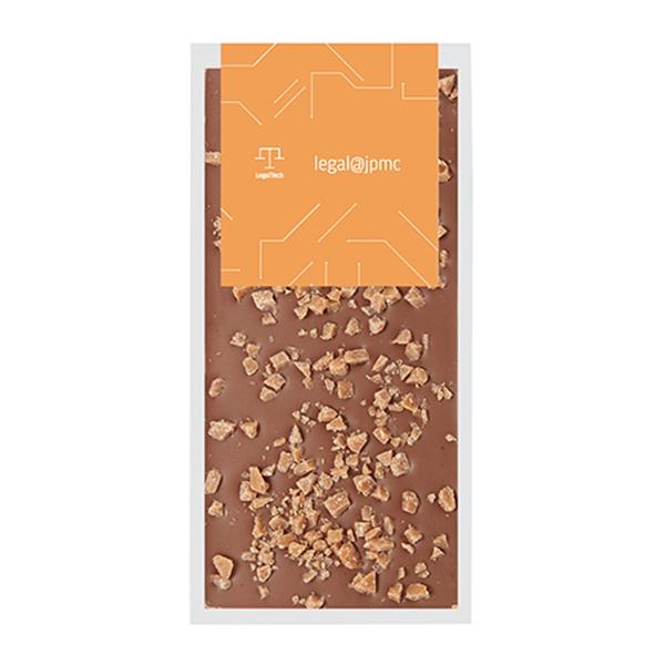 Belgian Chocolate Bars - Crushed Toffee - 3.5 oz