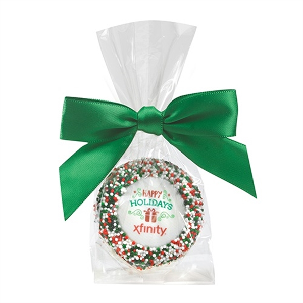 Custom Chocolate Covered Oreo® - Holiday Sprinkles