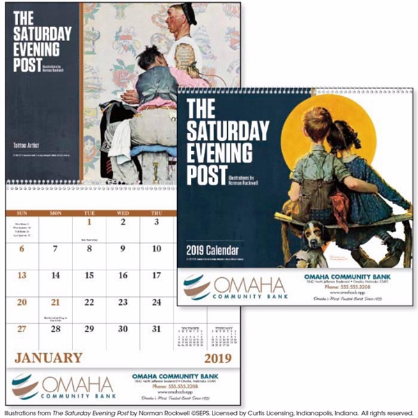 Spiral The Saturday Evening Post 2020 Appointment Calendar