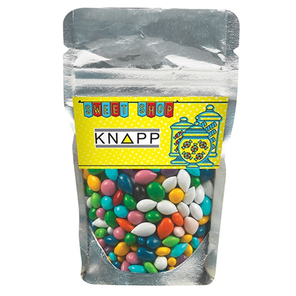 Resealable Clear Pouch - Chocolate Covered Sunflower Seeds