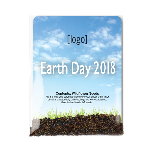 Earth Day Seed Packet