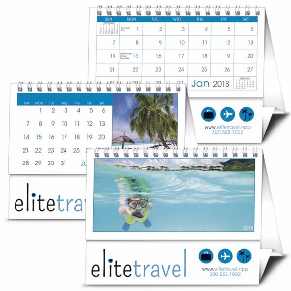 12 Sheet 2020 Desk Tent Calendar