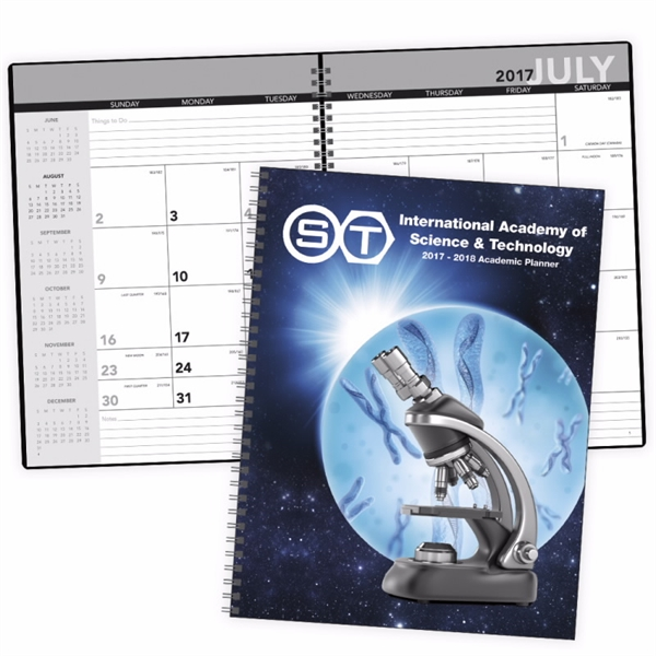 2020 Academic Year Desk Planner with Custom Cover