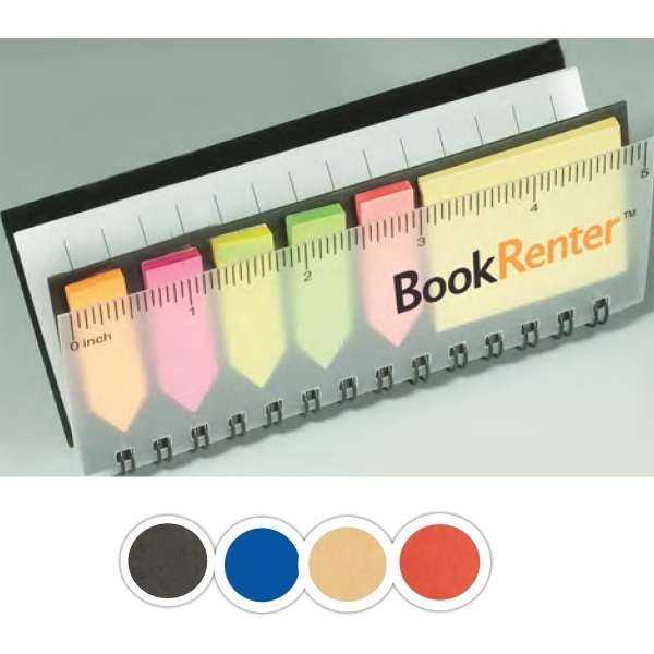 Sticky Book™ Pocket Jotter with Stickies