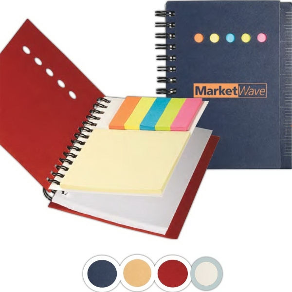 Eco Mini Sticky Book™ with Ruler