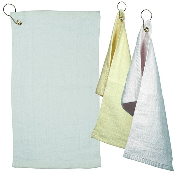 LogoTec Fingertip Towel with Grommet - Light Colors