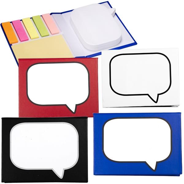 Logo-Burst™ Sticky Book™