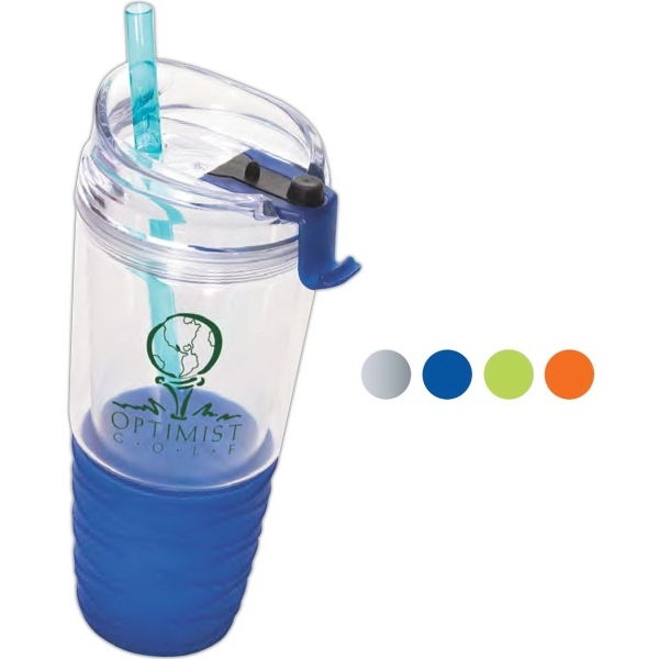 Quench™ Acrylic Tumbler with Straw
